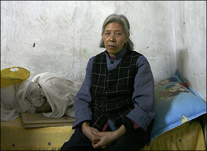 Tan Guang Quan, 70, a widow, depends on her sons for financial support.