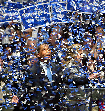 Completing one of the most extraordinary political journeys the state has seen, Patrick won a landslide victory on Nov. 7, 2006, over Republican Kerry Healey and two other candidates to become the first African-American elected governor of Massachusetts.