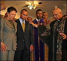 1,000 greet Patrick, hail step forward in struggle of blacks