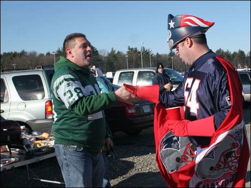 The two harassed a Jets fan. 'You don't belong here,' Bouthillette bellowed.