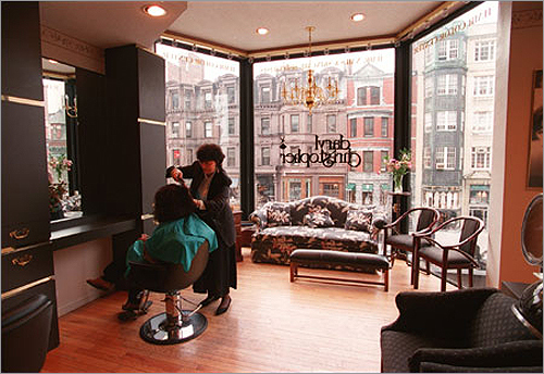 Trendy Daryl Christopher Salon and Day Spa on Newbury Street offers its own quick-hit massages, including a 20-minute Body Break for $40, and the 25-minute facial massage for $55.