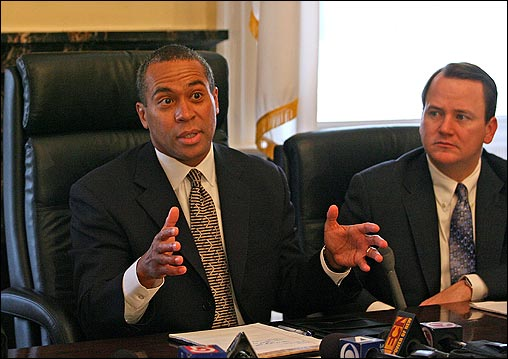 Patrick, the first African-American chief executive in Massachusetts history, promised to assemble a diverse team with fresh ideas to change the culture on Beacon Hill. Here is a look at who he has enlisted to help in the two months since his election. (At right, Lieutenant Governor Timothy Murray)