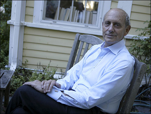 Stephen Breyer, New England's member of the unpredictable Supremes.