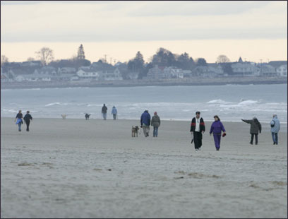 Ogunquit in winter