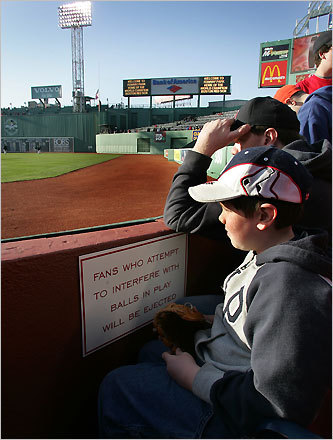 Fenway Park If your sweetheart is a diehard Red Sox fan, popping the question at Fenway Park may be the biggest dream come true. To make it truly special, call 877-REDSOX9 to get her name put up on the big screen during the game. DISCUSS Your proposal story?