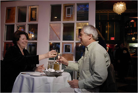 UpStairs on the Square in Harvard Square. This cozy restaurant is the perfect spot for the most romantic night of your life. And if you're aiming for a Valentine's Day proposal, the pink and red decor will help set the mood. DISCUSS Your proposal story?