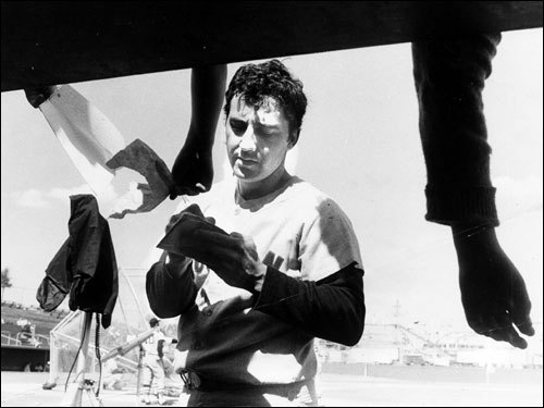 Rico Petrocelli 'Petrocelli's back... he's got it! The Red Sox win!' exulted radio voice Ned Martin after the last game of the '67 season. Two-time All-Star Americo Petrocelli was a beloved Red Sox shortstop from 1963-70 before switching to third base in 1971. Rico hit two homers in the '67 World Series. In the '75 Fall Classic, he hit .308 with four RBIs, and played error-free defense. In '69 he set a record (since broken) for home runs by a shortstop with 40. ( Petrocelli's stats and facts )