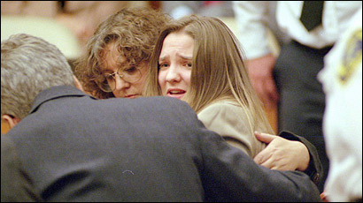 On October 30, 1997, the jury found Louise Woodward guilty of second-degree murder. The judge later reduced the charge to involuntary manslaughter.
