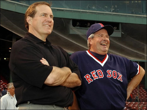 Grady Little Little (right), popular with players for his laid-back style, compiled one of the highest winning percentages (.580) in Red Sox history, going 188-136 in 2002-03. He's remembered for his controversial decision to leave Pedro Martinez on the mound, after he gave up gave up three straight hits, during the eighth inning Game 7 of the 2003 ALCS. The Red Sox entered the inning with a 5-2 lead, but Jorge Posada tied the game with a single off Martinez and the Yankees went on to win the game (and the pennant) in the 11th inning.