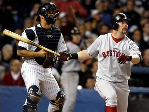 Trot Nixon Nixon, a first-round pick in the 1993 amateur draft, enjoyed a number of highlights during his 10 years in Boston. A winning two-run homer off Roger Clemens in a Yankee Stadium showdown with Pedro Martinez in 2000. An 11th inning, two-run walkoff in a must-win Game 3 of the '03 ALDS. A takedown of Tanyon Sturtze in the '04 fight with the Yankees at Fenway. And in the '04 World Series, the hard-nosed Fenway fan favorite batted .357 and knocked in three runs. After his release from the Milwaukee Brewers in March 2009, Nixon retired from baseball. ( Nixon's stats and facts )