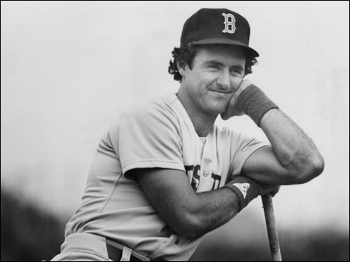 Fred Lynn An All-Star center fielder for nine consecutive seasons, Lynn earned the American League MVP in his rookie year in Boston. Lynn hit .331 in the 1975 campaign, and followed it up by hitting .314 mark in 1976. In '79, Lynn hit .333 with 39 homers, 122 RBIs, 116 runs scored, 42 doubles, and 82 walks. Lynn ended up with 306 homers and more than 1,100 RBIs in his injury-riddled career and was never the same after he left the Sox for Anaheim in a 1981 trade. ( Lynn's stats and facts )