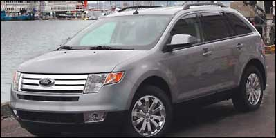 New England automotive writers say the Ford Edge is the region's ''Official Winter Vehicle.''