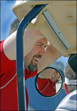 Varitek is learning to catch new pitchers this spring.