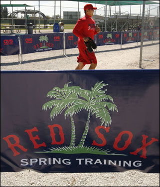 The workouts take place at the team's minor league complex.