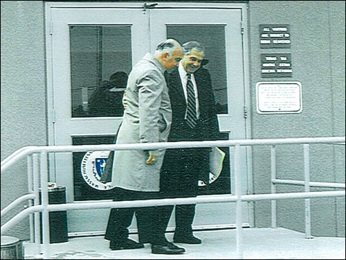 Salvati walked out the door of the Bay State Correctional facility on March 20, 1997, with his lawyer, Victor Garo. Salvati, 64, who had served 29 years and seven months in prison was finally paroled after then-Governor William F. Weld commuted his sentence.