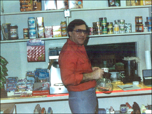 Salvati ran a store for inmates at the Framingham Reformatory in the mid-70s, and managed to turn a profit after it had been losing money for years. He worked there for about seven years.