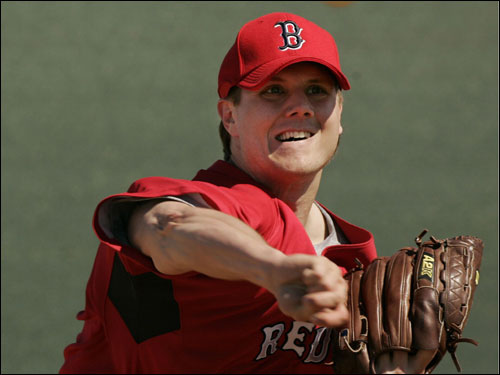 Barring a trade -- and assuming the Sox stick with their plan to move Jonathan Papelbon (pictured) into the rotation -- there are many pitchers vying to be Papelbon's successor in the closer's role. In the frames that follow, we've got the candidates (in alphabetical order), their credentials, and some key quotes from pitching coach John Farrell. At the end, we ask you to vote for your pick at closer ...
