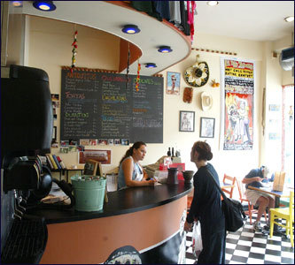 If you don't have time for a sit-down meal, grab an authentic taco or burrito from El Pelon Taqueria on Peterborough St. The small eatery offers flavorful, healthy Mexican creations with some of the best ingredients.