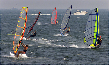 best windsurfing