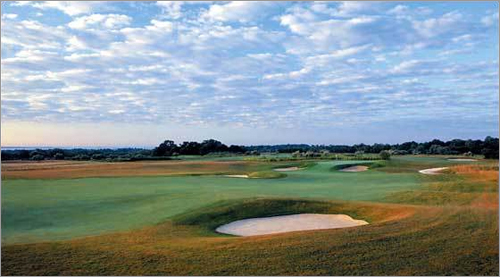 Newport National Golf Club , Middletown, R.I. Despite only being about five years old, The Orchard Course has drawn a lot of attention, from sources like Golf Digest and GolfWeek. Among its perks are views of the Sakonnet Passage, the Atlantic Ocean, and Narragansett Bay.