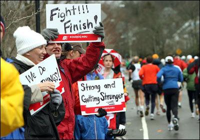 Boston Globe Marathon photos