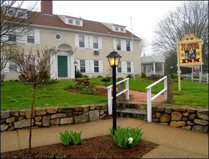 The General Stanton Inn in Charlestown, R.I., is a complex of buildings, the oldest of which dates from 1667.