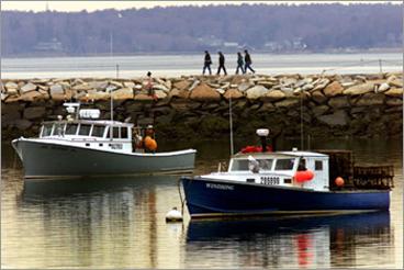 Plymouth Harbor Jetty