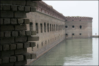 Fort Jefferson; Dry Tortugas National Park, Florida