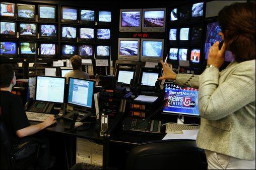 Smart traveller control room