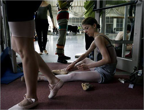 Boston Ballet Practice