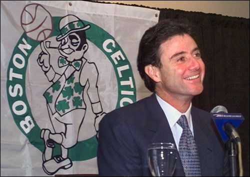 Boston's shamrocks have wilted since the Curse of Len Bias descended on the hallowed parquet. But here's a reality check from the Globe's Jackie MacMullan: Bias died 21 years ago . Reggie Lewis died 14 years ago . And that ping-pong ball that sent Rick Pitino into an NBA funk from which he never recovered was a decade ago . There has been ample time for the Celtics to recover from their calamities. The simple fact is they haven't. ( Text by Jackie MacMullan and Gary Dzen)