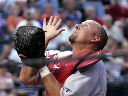 On Jan. 27, 2006, Bard came to the Sox in a trade with the Indians. Bard struggled to replace Doug Mirabelli as Tim Wakefield's personal catcher as the '06 season began, as the knuckleball gave him trouble behind the plate...