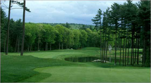 Shaker Hills Golf Club 146 Shaker Rd. Harvard, Mass. 978-772-2227 18-hole rate: $55-$85 Our take : A mix of challenging terrain and quiet, pine-dappled countryside, this course is certainly not short on accolades. Golf Digest named it one of the top 18 public courses in North America, and it played host to the 2003 and 2005 US Open qualifier.