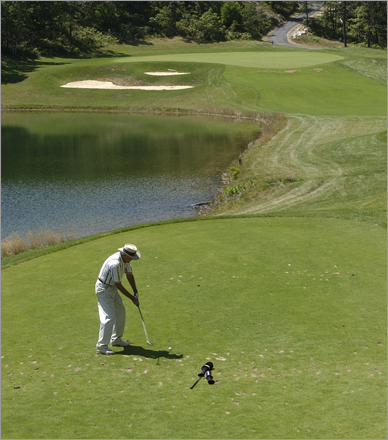"CrossWinds Golf Club 424 Long Pond Rd. Plymouth, Mass. 508-830-1199 18-hole rate: $45-$55 Reader comments : ""Some very interesting holes. Don't even think about walking it, though."" Our take : Plymouth's relatively young course features 27 holes of challenging terrain while boasting the comforts of a resort."