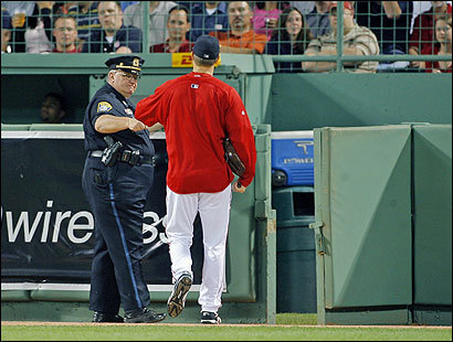 Officer Billy Dunn and Red Sox