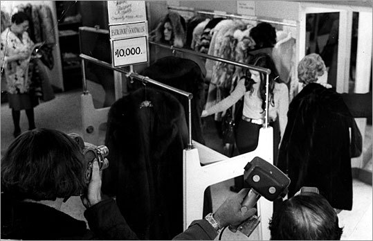 Pricey coat sold at Filene's Basement