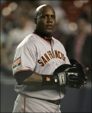 Barry Bonds comes to Fenway Park this weekend embroiled in a steroid controversy and nearing the end of his chase for the all-time home run mark. Love him or hate him, Bonds has certainly had a headline-filled career ... we take a look back. (Text by Ben Gellman-Chomsky, Boston.com)