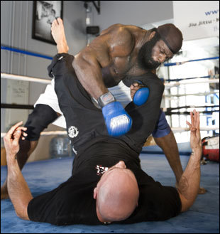 After building a reputation as a bare-knuckle brawler, Kimbo Slice is looking to go more mainstream as a Mixed Martial Arts fighter.