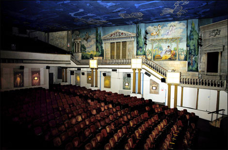 The Latchis Theatre was built in 1938 and is listed on the National Register of Historic Buildings.