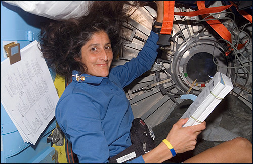 Living abroad for six months will make almost anyone homesick. But Sunita Williams, who set a record for the most time spent in space by a woman while on board the International Space Station, missed most the things we often take for granted. According to her father, Deepak Pandya, of Falmouth, here is a list, in no particular order, of what the Needham astronaut most looks forward to after landing on Earth. At the end, tell us what you'd miss most.