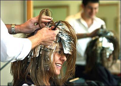 Blond ambitions the boston globe for Acote salon newbury