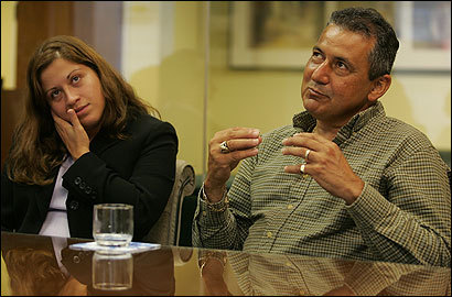 Raquel Ibarra Mora, daughter of Milena Del Valle, and Angel Del Valle, who was driving when the tunnel ceiling collapsed.