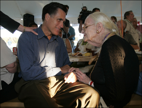 Though often at loggerheads, Romney and legislative leaders did work together to set aside $25 million to put up evacuees from Hurricane Katrina on Cape Cod. 'Opening our hearts is the best way to use a surplus,' Romney said at the time. Ultimately, the state took in some 235 storm victims.