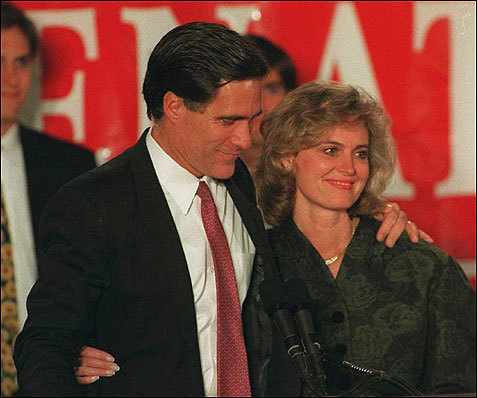 ann romney young. mitt and ann romney.