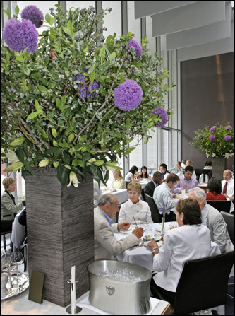 The Modern is the most extravagant, pricey, and independent of MoMA's eateries.