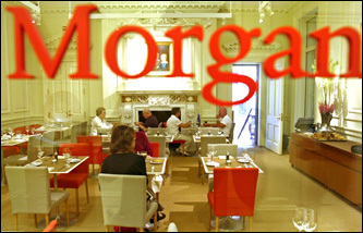 The Morgan Dining Room at the Morgan Library and Museum.