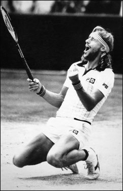 Of course, sticking with me forever is Bjorn Borg-John McEnroe in 1980, encapsulating the War of 18-16, their excruciating fourth-set tiebreaker.
