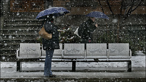 A 20 to 30 percent increase in precipitation in winter -- more likely falling as rain rather than snow.