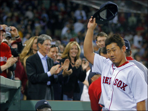 John Henry said his sensitivity to Matsuzaka's privacy is one reason he has kept his distance from the pitcher. ''I don't hang out with Daisuke,'' said Henry, who as owner of the Florida Marlins used to pal around with his players but has pulled back here. ''He gets so many people wanting his attention that I just don't try to add to that.''