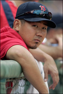 Matsuzaka has been somewhat disappointed by the level of scrutiny he is subjected to at times. ''I think there have been a few cases where people have followed me as I was leaving the ballpark,'' he said, ''and I was a little surprised when that happened because I thought that privacy was held much more sacred here than in Japan.''